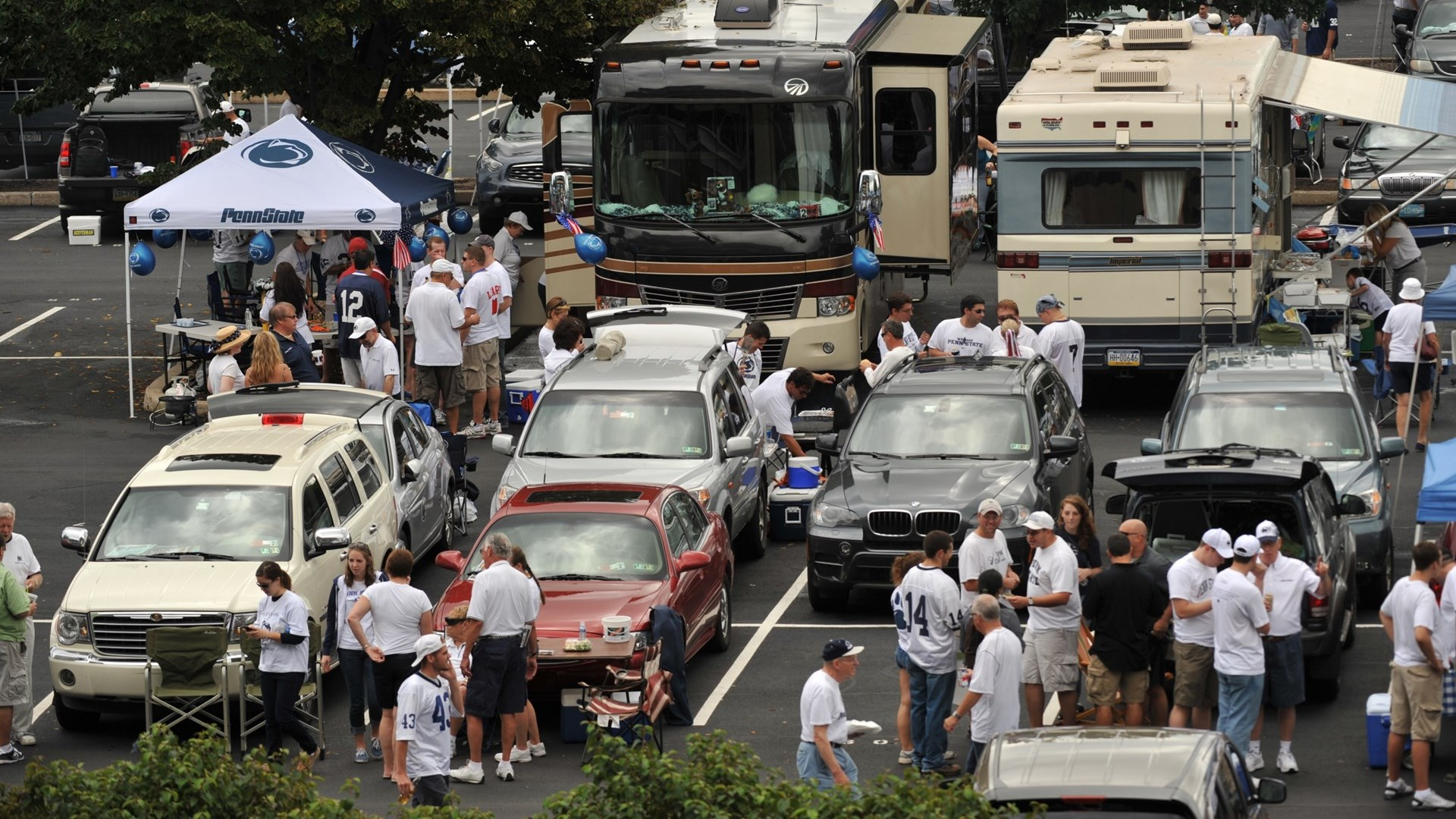Game Day Parking Exhausted For Penn State Ohio State Game Penn