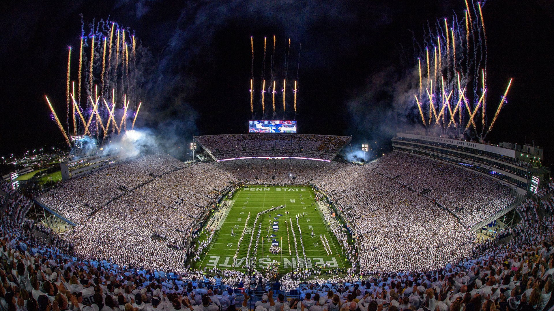 Nittany Lions Host Buckeyes For Penn State White Out Penn State